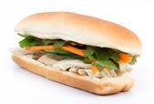 Banh mi - vietnamese sandwich — Stock Photo