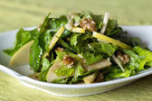 Apple and nut salad — Stock Photo