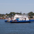 Catherine-Legardeur ferry boat — Stock Photo