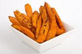 Sweet potato fries — Stock Photo