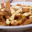 Poutine quebec meal with french fries — Stock Photo #40380725