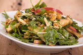 Healthy nut and apple salad — Stock Photo