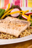 Cooked mahi mahi fish fillet — Stock Photo