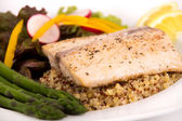 Cooked mahi mahi fish fillet — Stockfoto