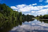 Maskinongé River, Qc, Canada landscape — Stock Photo