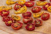Sundried cherry tomatoes — Stock Photo
