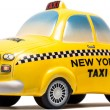New York Taxi Toy — Stock Photo