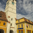 Stock Photo: Sibiu Council Tower