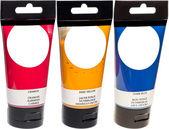 Acrylic Paint Tubes — Stock Photo