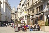Bukarest-altstadt — Stockfoto