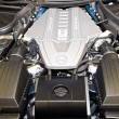 Mercedes AMG V8 Engine - Stock Photo