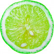 Green Lime Slice - Stockfoto