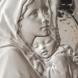 Virgin Mary And Baby Jesus — Stock Photo