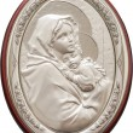 Virgin Mary And Baby Jesus — Stock Photo