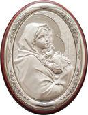 圣母玛利亚和耶稣宝宝 — 图库照片