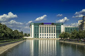 Bucharest National Library — Stock Photo
