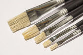 Acrylic Flat Paintbrush — Stock Photo