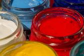 акриловая краска — Стоковое фото