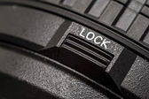 Lock Button — Stock Photo