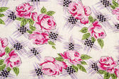 Flowery Table Cloth — Stock Photo