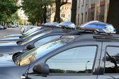 Police Cars — Zdjęcie stockowe