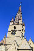 Medieval Church Tower — Stock Photo