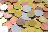 Romanian Lei Coins — Stock Photo