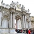 Stock Photo: Dolmabahce Palace Gate