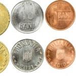 Romanian Coins — Stock Photo