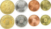 Rumänska mynt — Stockfoto