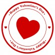 Valentine Day Stamp — Stock Vector #22611419
