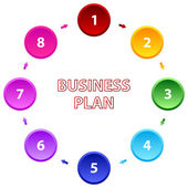Business Plan — Stock Vector