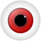 Red Eye — Stock Vector