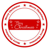 Merry Christmas Badge — Stock Vector