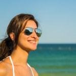 Happy Girl Portrait — Stock Photo
