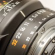Aperture Selection — Stock Photo