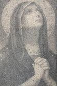 Virgin Mary Praying — Stock Photo