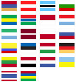 World Flags — Stock Vector