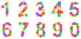 Nombre de fleurs de printemps — Vecteur