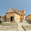 Rasnov Citadel In Romania — Stock Photo