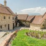 Rasnov Citadel In Romania — Stock Photo