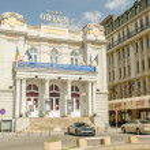 Theater in Bucharest — Stock Photo #24934005