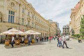Downtown Bucharest — Stock Photo