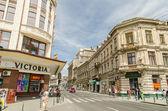 Centrum Bukaresztu — Zdjęcie stockowe