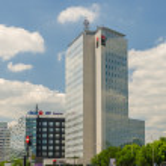 Skyscraper In Bucharest — Stock Photo