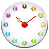 Healthy Life Clock — Stock Photo
