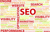 Optimización del search engine — Vector de stock