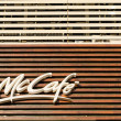 McDonald's McCafe — Stock Photo