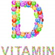 Stock Vector: Vitamin D