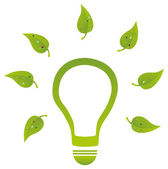 Environment Friendly Energy — Stock Vector